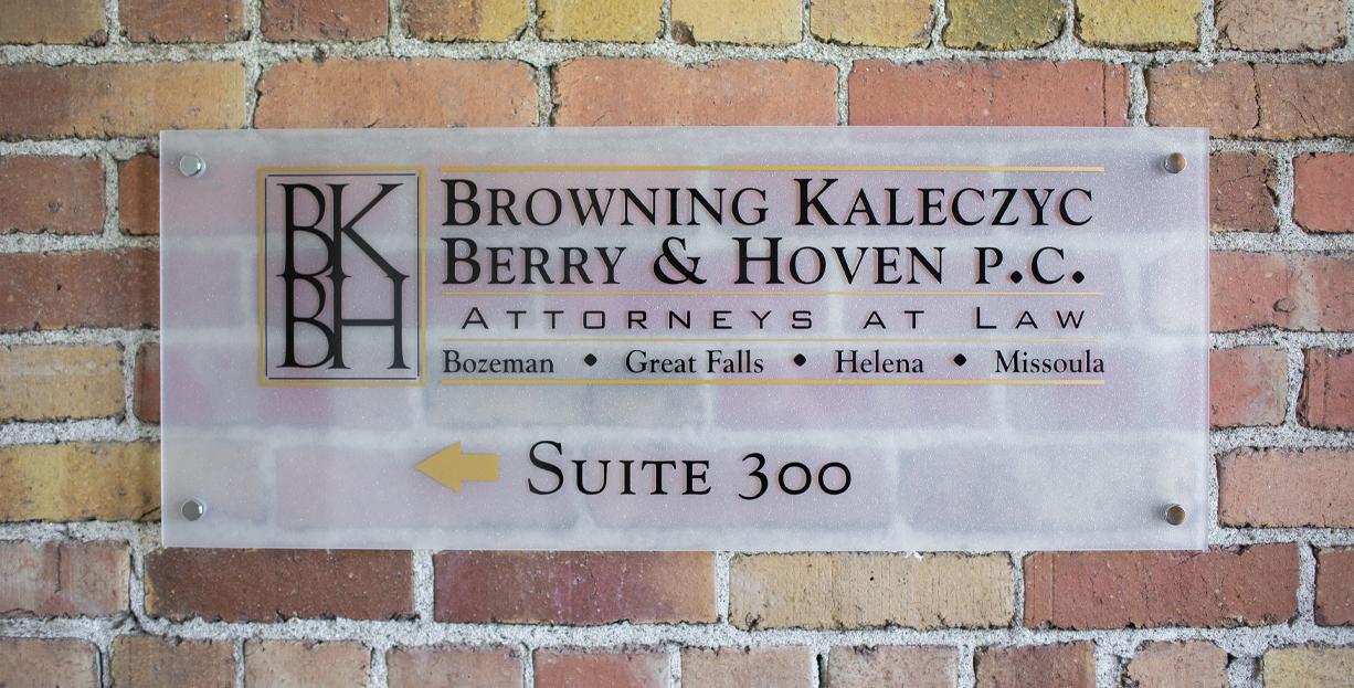 BKBH Sign
